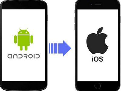 перенос данных с андроид на ios