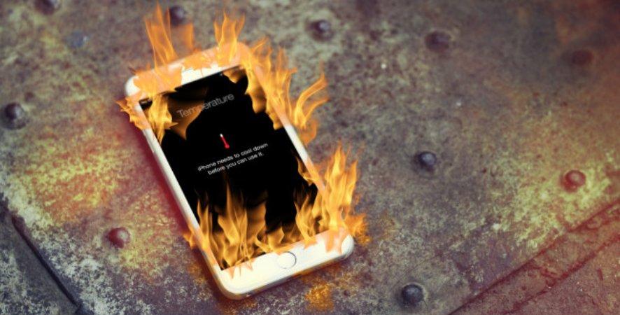горячий айфон